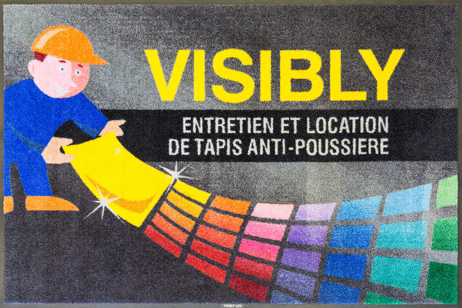 Visibly Tapis Personnalisation , location et entretien tapis